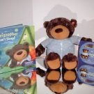 Hallmark Interactive Story Buddy CHRISTOPHER CAN'T SLEEP, BEAR-BOOK & CD