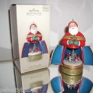 Hallmark Keepsake,Santa Music Box,Wind-Up,Musical,Motion,Christmas Ornament,NIB