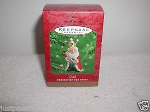 "Hallmark ""Dad"" Holiday Ornament,Christmas Ornament NEW"