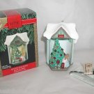 Hallmark Keepsake, Look! Its Santa Christmas,Magical Light,Shadow Ornament,New