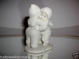 """Snowbabies Retired Department 56 """"I Need A Hug"""" Figurine With Box"""