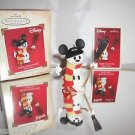 Hallmark Keepsake Disney,Mickey Mouse Snow Sculpture Snowman,Ornament,New In Box