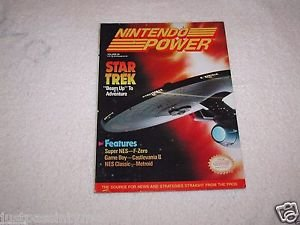 "Nintendo Power, Star Trek""Beam Up"" To Adventure,Vol.29  With Poster Intact"