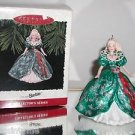 Hallmark Keepsake,Holiday Barbie,1995,Collector's Series,Christmas Ornament