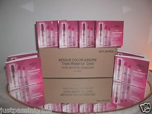 24 Nexxus Salon Hair Care,Color Assure No-Sulfate 3 Step Color Care kits