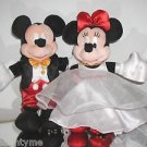 WALT DISNEY WORLD, MICKEY & MINNIE MOUSE,READY TO PARTY BEANIES