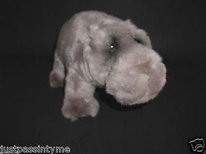 Dakin Artists Collection Lou Rankin Thurgood Chubby Grey Hippo Plush w/tags