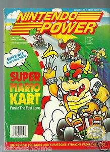 Nintendo Power,Vol.41  SUPER MARIO KART Fun In The Fast Lane With Poster