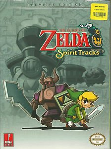 The Legend of Zelda: Spirit Tracks : Prima Official Game Guide NEW SEALED !!!