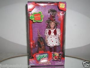 """Dr.Seuss """"How The GRINCH Stole Christmas"""",Talking Cindy Lou Who w/Max NEW IN BOX"""