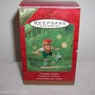 Hallmark ELF on COOKIE DOUGH Colorway Repaint CREATIVE CUTTER Ornament  w/box