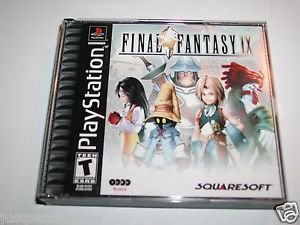Final Fantasy IX 9 (Sony PlayStation 1, 2000) PS1, 4 Discs   -BLACK LABEL-