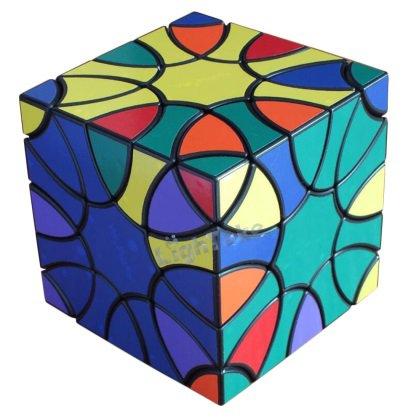 Clover Magic Cube Square Shaped Irregular Puzzle