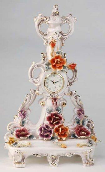 Capodimonte Reproduction Flower Clock