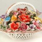 Spaghetti Basket w/ Flowers