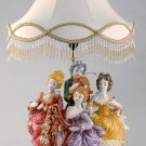 Capodimonte Reproduction Figural Lamp