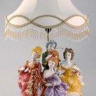 Capodimonte Reproduction Figural Lamp