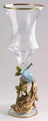 Cevik Vase w/ Peacock