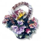 Capodimonte Orchid Basket