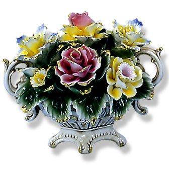 Capodimonte Flower Centerpiece