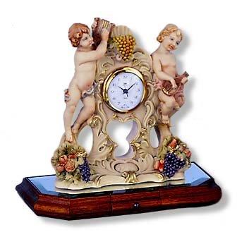 """Berger"" Angel Design Large Clock"