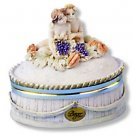 """Berger"" Cherub Oval Box- Small"