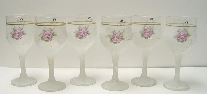 Murano Silvestri 6 Wine Glass Set