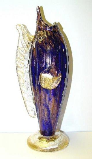 Italian Murano Mini Swordfish Vase