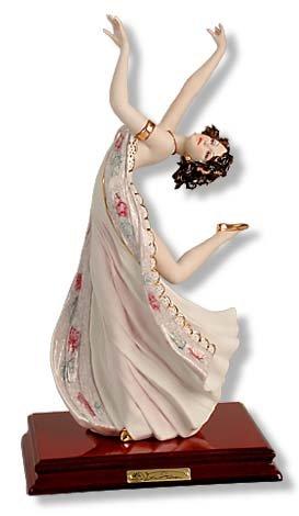 V. Sabadin Danzatrice Lustro Liberty