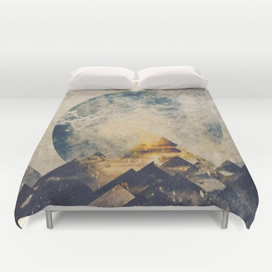 Mountain Duvet Cover Queen Size  2g6Ji1L