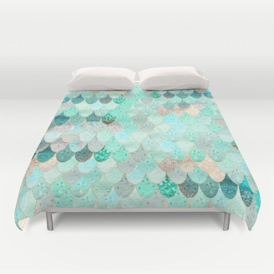 Mermaid Duvet Cover Queen Size  2fnRo6R