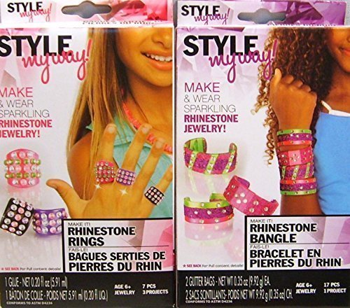 Style my Way Make your own rings and bracelets