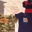 Baby boy 3-6 month Brand name onesies lot