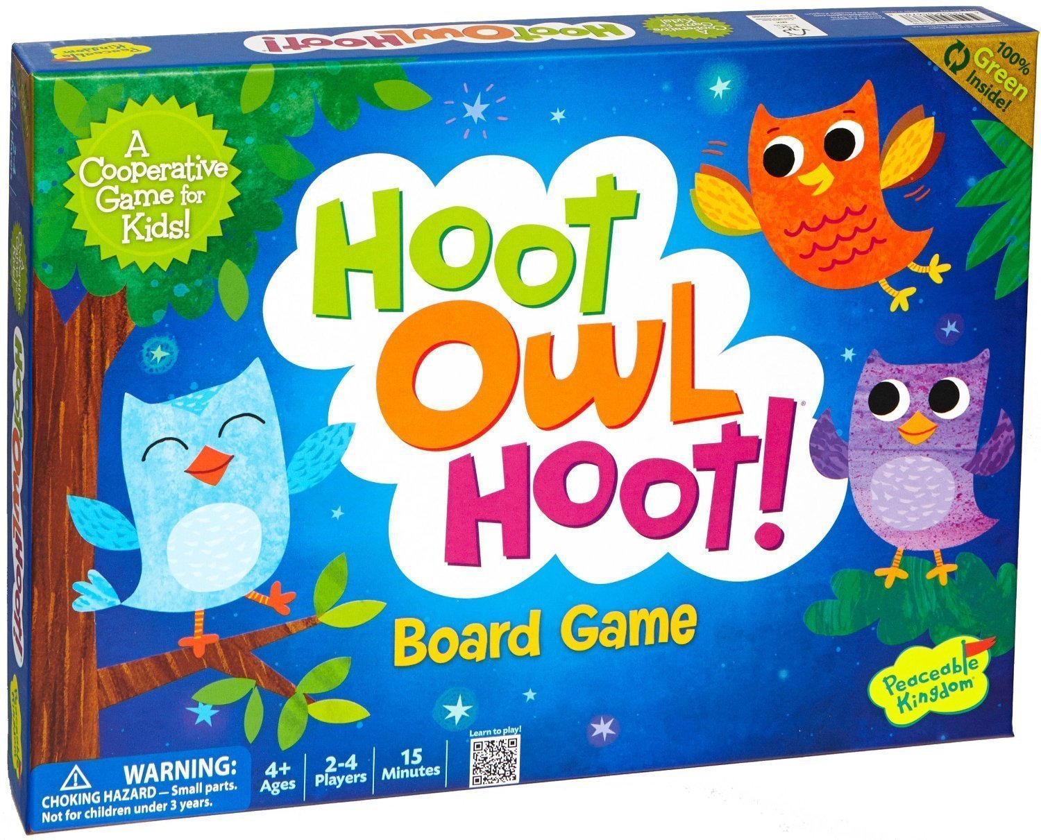 Peaceable Kingdom Hoot Owl Hoot Cooperative Board Game