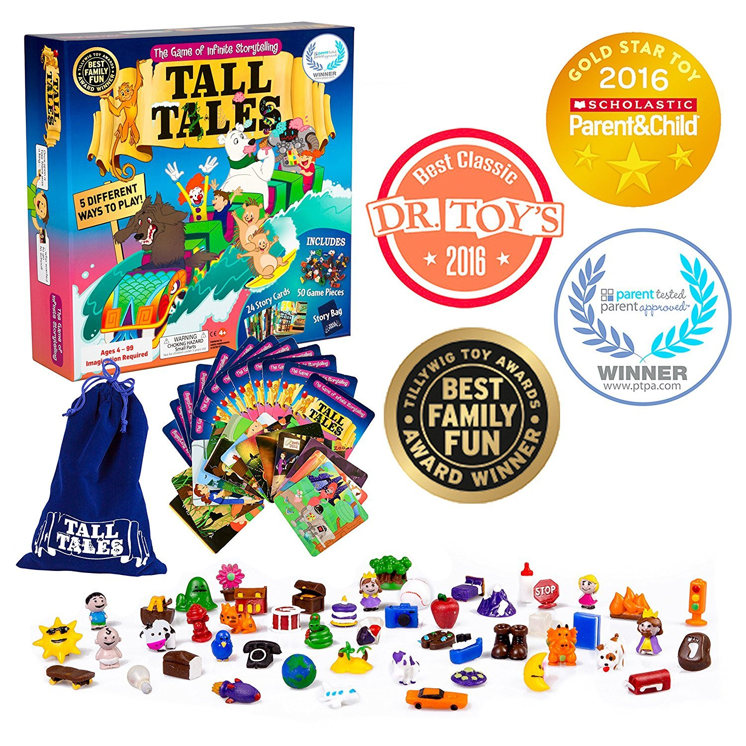The Family Game of Infinite Storytelling Tall Tales Story Telling Board Game