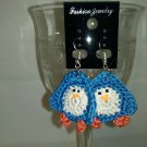 Blue Penguin earrings