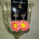 Little Coral Flower Earrings