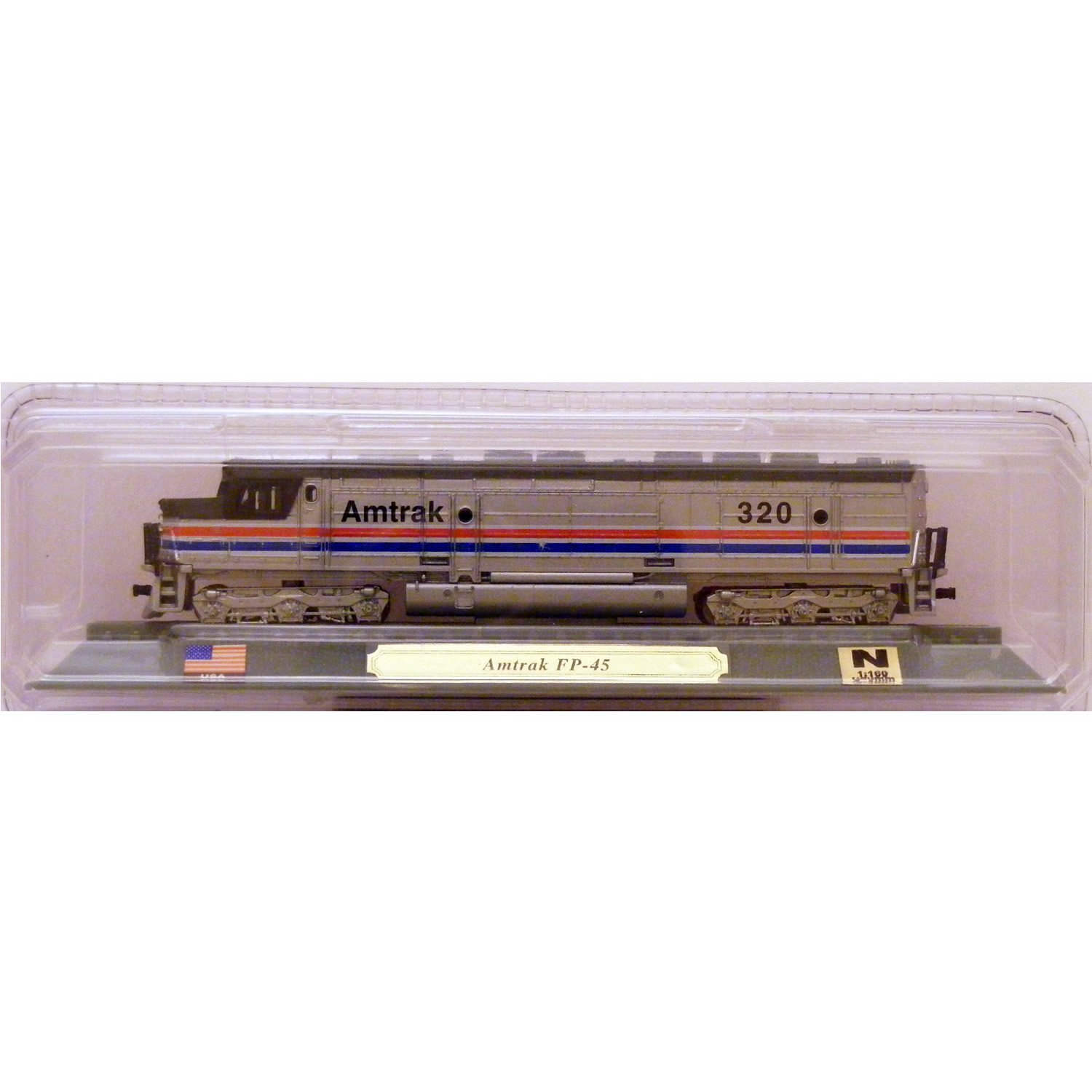 Del Prado N Gauge Amtrak FP-45 Diesel Locomotive of the USA