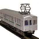 N Gauge / N Scale Silver Tramcar / Railcar - Light Rail BNIB