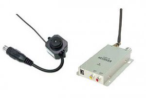 Video Wireless Camera Pinhole SpyCam