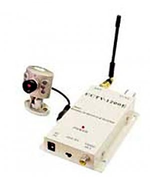 Wireless Camera With Night Vision  - CCTV
