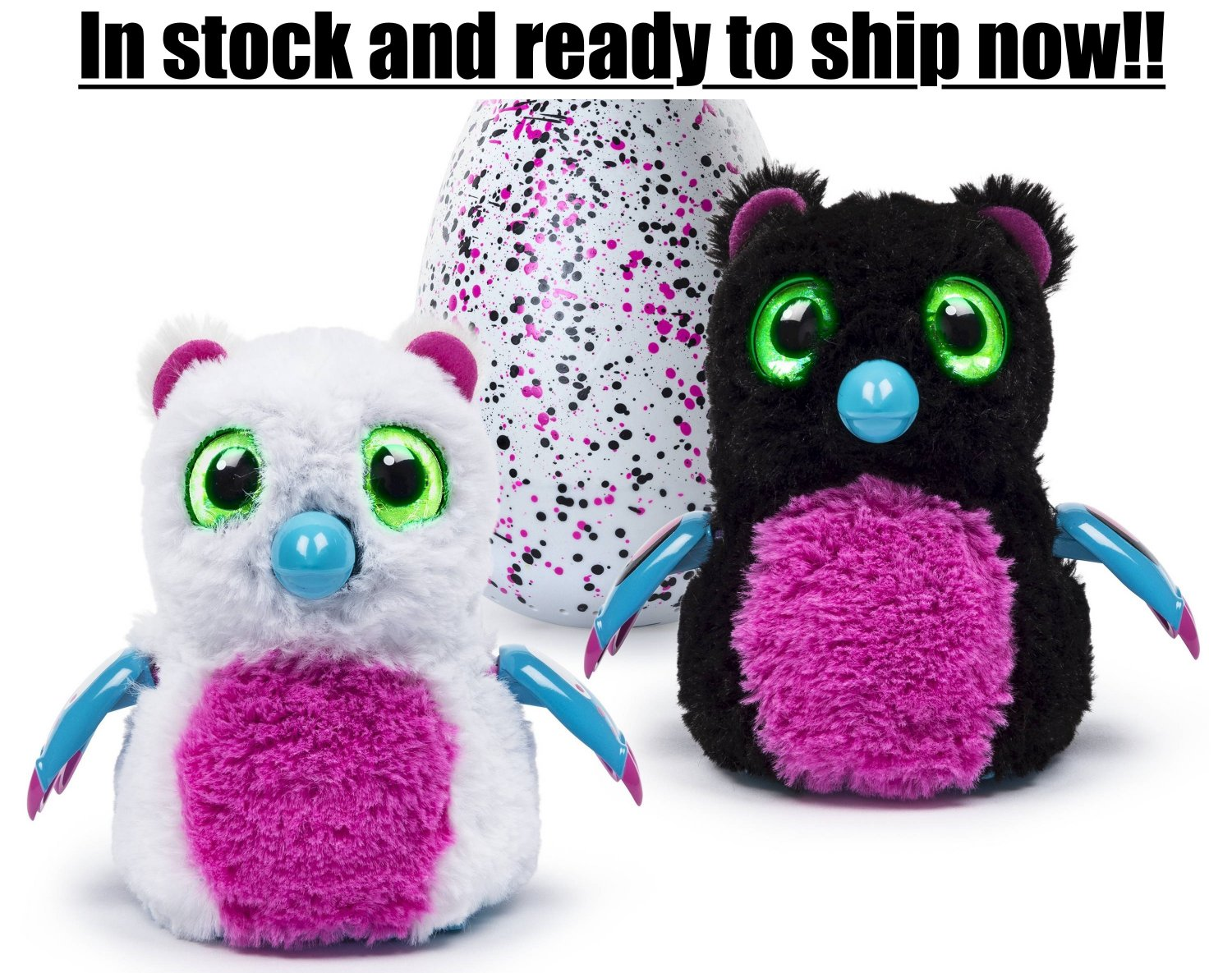Hatchimals Bearakeet Pink & Black Egg- In stock and New in box!