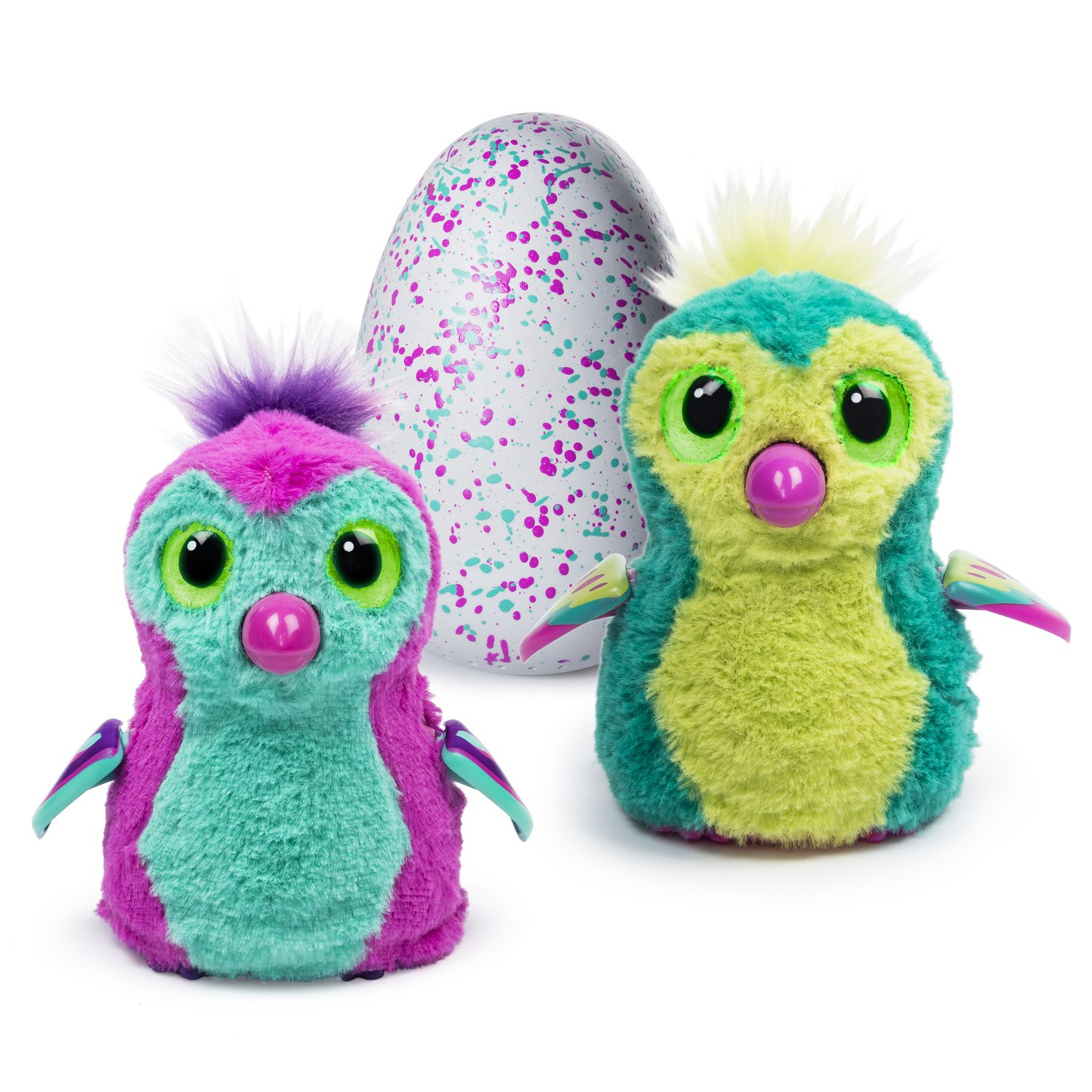 Hatchimals Pengualas Pink & Teal Egg
