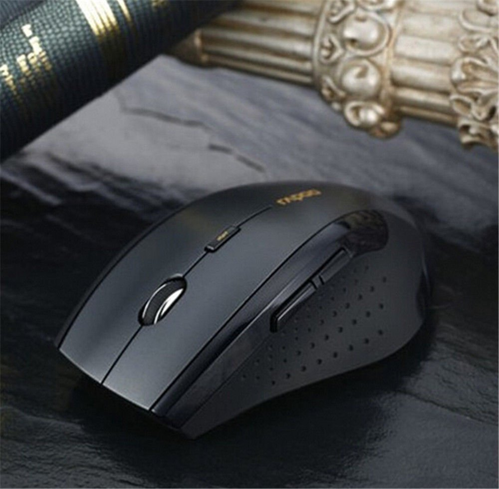 2.4GHz USB Wireless Optical Gaming Mouse 1600DPI Mice For Laptop Desktop PC