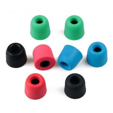 4.9mm T400 Earbud Memory Foam Eartips Earplug Tips For InEar Headphone