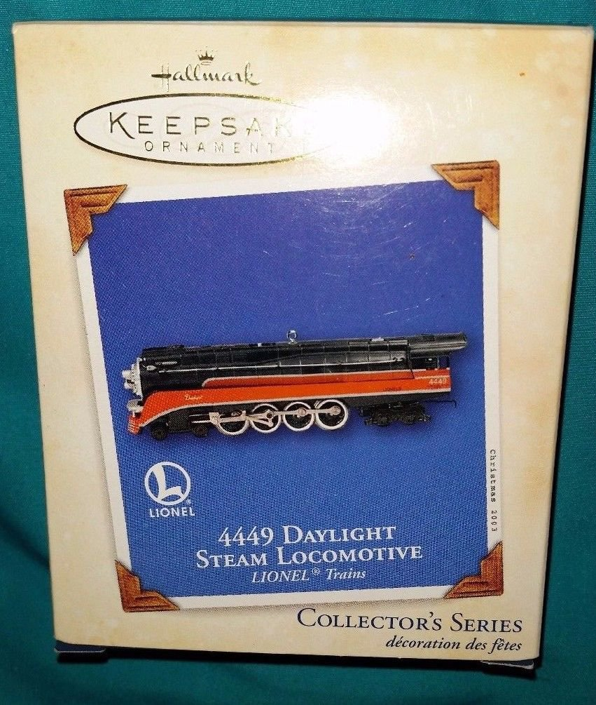 Hallmark Keepsake Ornament - Lionel 4440 Daylight Steam Locomotive - New in Box