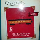 Hallmark Keepsake Ornament - Lionel Daylight Observation Car - New in Box