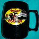 Amtrak The Pioneer Coffee Mug with Plastic Lid