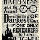 Harry Potter Newspaper Vintage Poster