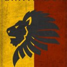 Gryffindore Vintage Poster
